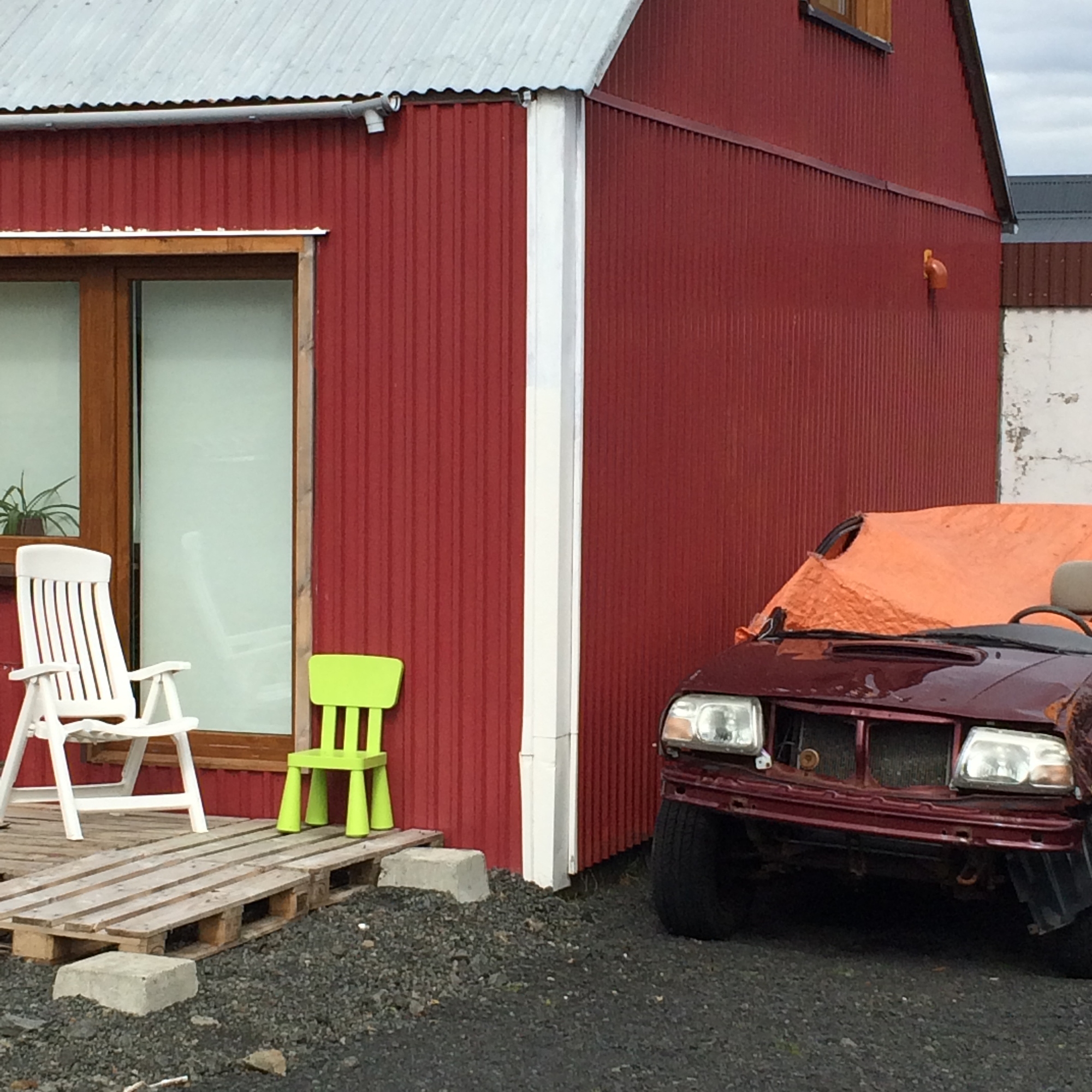 A walk in quirky Keflavík town