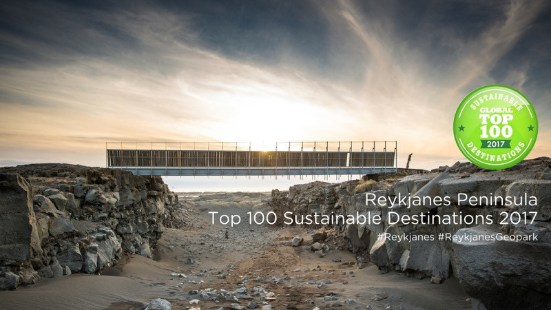 Reykjanes one of Global Top 100 Sustainable Destinations
