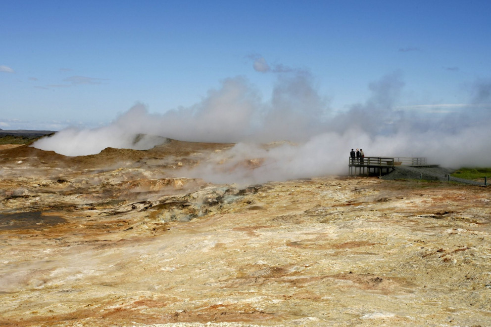 Increased geothermal activity in Gunnuhver