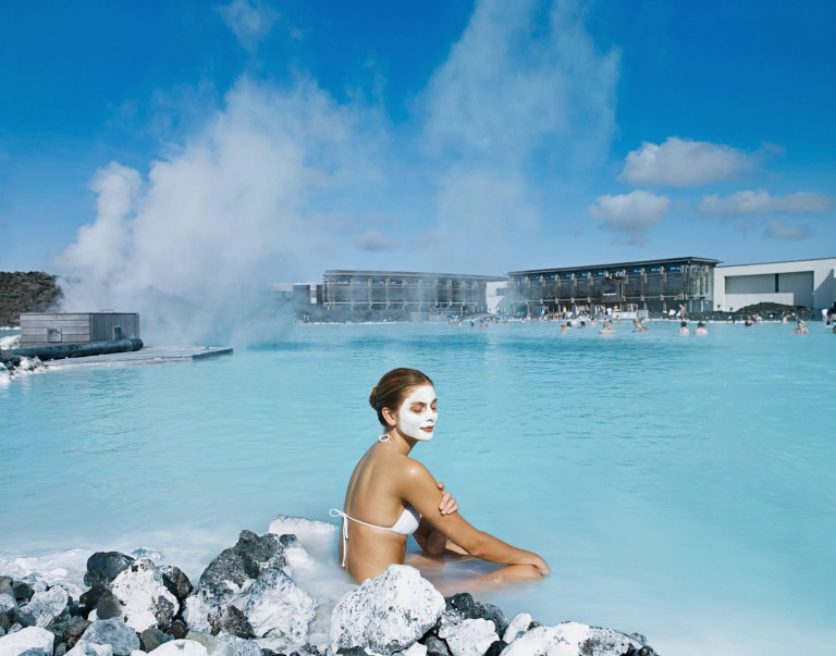 The Blue Lagoon's main resort